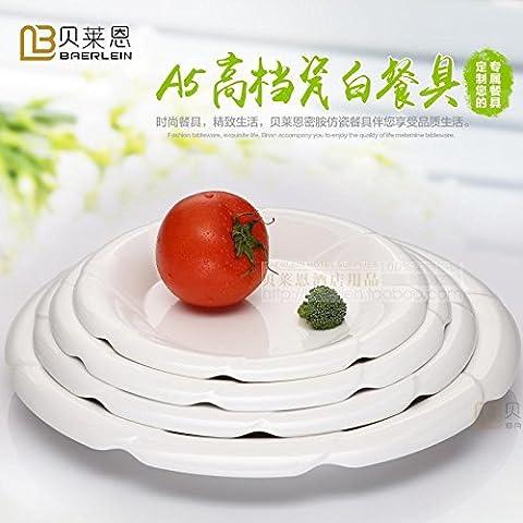 Bianco melammina esclusivo anti-bordo in pizzo modellato