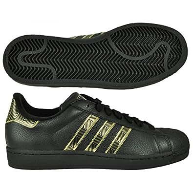 superstars schwarz gold