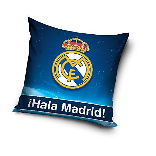 Real Madrid almohada cojín funda de almohada real madrid 40cm x 40cm, Rm6004p