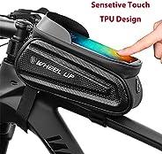 SWIPPLY | Bike Accessories | Waterproof Bike Bag Pouch | Touch Screen Mobile Phone Mount Holder Basket For Men