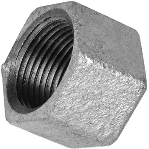 GEWINDE FITTING aus TEMPERGUSS verzinkt > Nr.300 Kappe sechskant IG(Rp) > 1/8 bis 4 Zoll WUNSCHGRÖSSE einfach selbst wählen >>> 1 1/4 Zoll