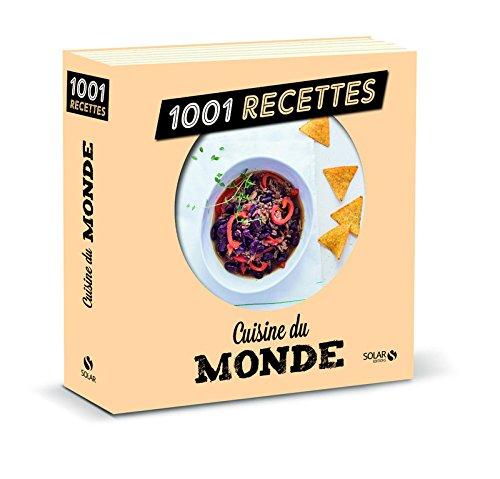 Cuisine du monde NE - 1001 recettes