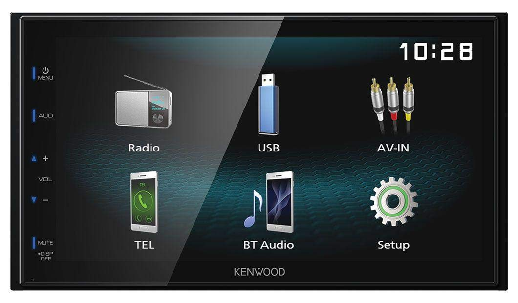 caraudio24-Kenwood-DMX120BT-AUX-Bluetooth-USB-MP3-2DIN-Autoradio-fr-Seat-Leon-05-09-schwarz