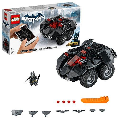 es App-Gesteuertes Batmobile (76112) Batman Spielzeug (Batmobile Batman)