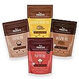 Creative Nature Superfood Vegan and Gluten Free Baking Mixes Value Bundle - 4 x Baking Mixes