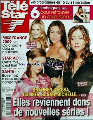 TELE STAR [No 1676] du 10/11/2008