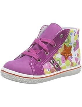 Ricosta Mädchen Flag Hohe Sneakers