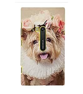 EPICCASE bride dog Mobile Back Case Cover For Microsoft Lumia 920 (Designer Case)
