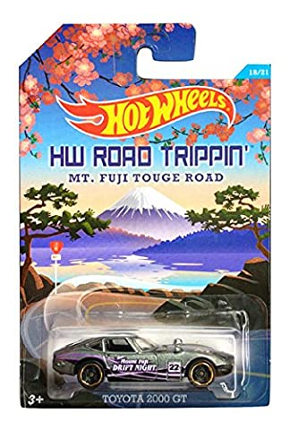 Hot Wheels Road Trippin' Series - MT. Fuji Touge Road - Toyota 2000 GT - 18 of 21 (Grey Col)