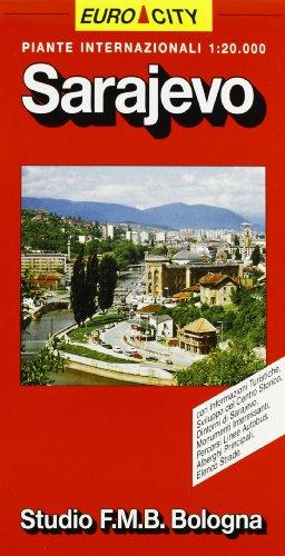Sarajevo. Pianta della città 1:20.000 (World City)