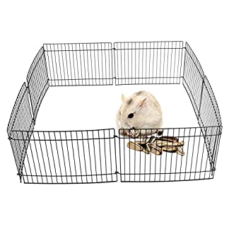 MultiWare Guinea Pig /Rabbit /Hamster Pet Play Pen 8 Panel Indoor Outdoor Play Cage MultiWare Guinea Pig /Rabbit /Hamster Pet Play Pen 8 Panel Indoor Outdoor Play Cage 51ZzlgstBbL