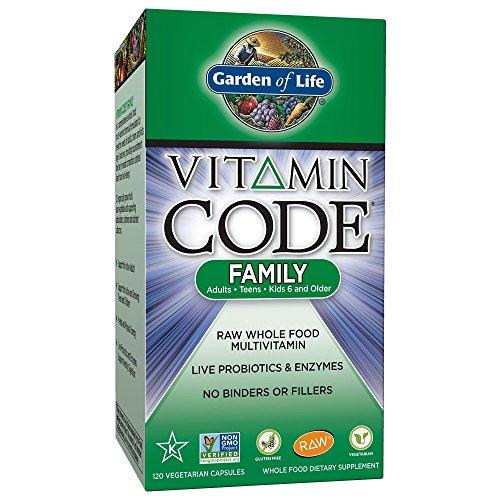 Garden of Life Vitamin Code Family - 120 Kapseln -