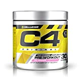 Cellucor C4 G4 - Pre-Workout-Pulver mit Creatin - Rosa Limonade - 60 Portionen