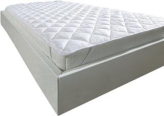 WOMETO Klimafaser-Matratzenauflage Microfaser-Unterbett 90x190, 100x200 OekoTex