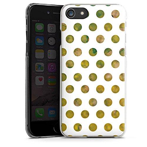 Apple iPhone X Silikon Hülle Case Schutzhülle Muster Punkte Frühling Hard Case transparent