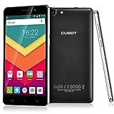 Cubot Rainbow Smartphone Ohne Vertrag (5.0 Zoll HD IPS-Display, 3G WCDMA 2G GSM Android 6.0 Handy, MTK6580 1.3GHz Quad Core, 1280x 720 pixels, 13 Megapixel-Kamera mit 16GB ROM, Dual SIM Karten Dual Standby) Schwarz