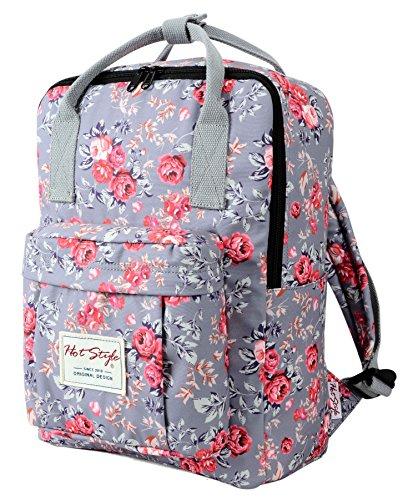 Imagen de hotstyle bestie  escolares estampada 37x27x14cm  para notebook 14 pulgadas  rose