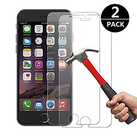 Film Protection iPhone 6 / 6S, [2 Pack] Cokirra Verre Trempé Sans Bulles Ultra-Clair 9H Glass Screen Protector pour iPhone 6 / 6S 4.7 inch