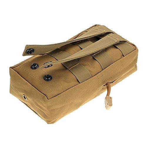 "Anmas Box 8 4.75 2"" Militär Nylon Außen Armee Gürteltasche Beutel-fall CT"