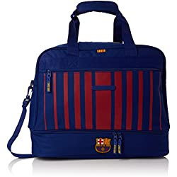 Safta Bolsa De Deporte F.C. Barcelona 17/18 Oficial Con Zapatillero 480x270x380mm