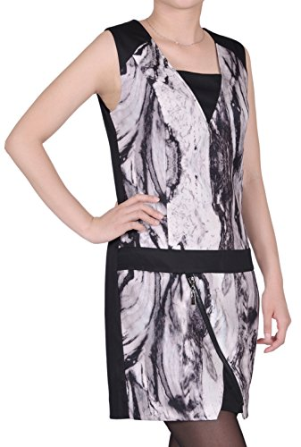 MyCollection - Robe - Femme Gris
