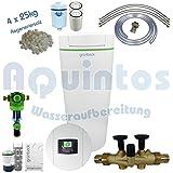 Grünbeck Enthärtungsanlage softilQ:SC18 Wasserenthärtungsanlage-Enthärtungsanlage-Entkalkungsanlage-Weichwasseranlage inkl. Grünbeck Rückspülfilter Boxer in 1' und 4x25 kg Regeneriersalz