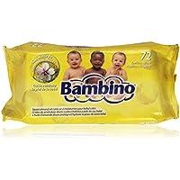Bambino - Toallitas con aceite de almendras dulces - 72 unidades