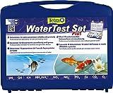 Tetra WaterTest Set Plus (professionelles Testlabor zur Bestimmung der Wasserwerte im Aquarium, im attraktiven Kunststoffkoffer)
