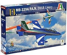 Italeri MB339 313° P.A.N. Gruppo Addestramento Acrobatico Frecce Tricolori 2018 Kit 1:72