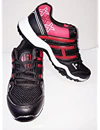 Men Red Black Running Sports Shoes