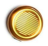 MaxBox - Kleingeld Box gold, Münzbox, Hartgeld Box aus Aluminium, Münzspender, Münzsortierer für Euro Münzen Aufbewahrung