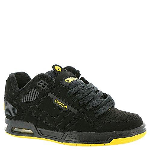 Osiris Peril Synthétique Chaussure de Basket Black/Yellow/Black