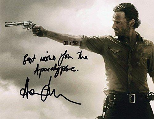 Édition limitée Andrew Lincoln The Walking Dead Photo dédicacée par autographe