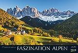 Faszination Alpen - Kalender 2017 - Korsch-Verlag - Panorama-Format - Wandkalender 58 x 39 cm