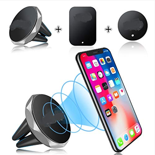 luoshui Car Phone Holder Magnetic Air Vent Mount Mobile Smartphone Stand Magnet Support Cell In Car GPS Für iPhone XS Max Samsung