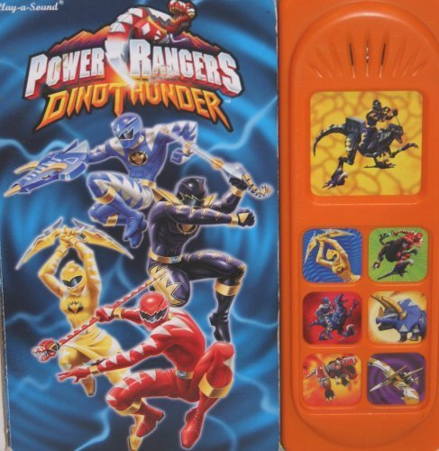 Power Rangers Dino Thunder play a sound book par From publications intl