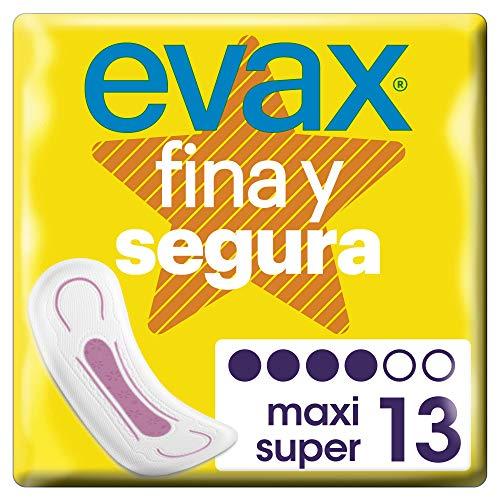 Evax Fina Segura Super/Maxi Compresas - 13 Unidades