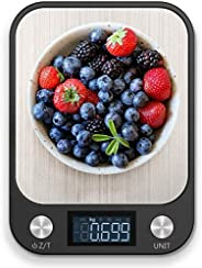 RoyalPolar Food Scale, Multifunction Digital Kitchen Scale High Accuracy Electronic Food Weight with Large LCD