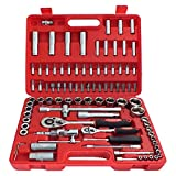 """Best Socket Sets - Tooltime® 94 Piece 1/2"""" and 1/4"""" Drive Socket Review"""