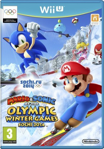 Winter-wii-spiele (Mario & Sonic at the Sochi 2014 Winter Olympic Games [Nintendo Wii U] - Game by Wii)