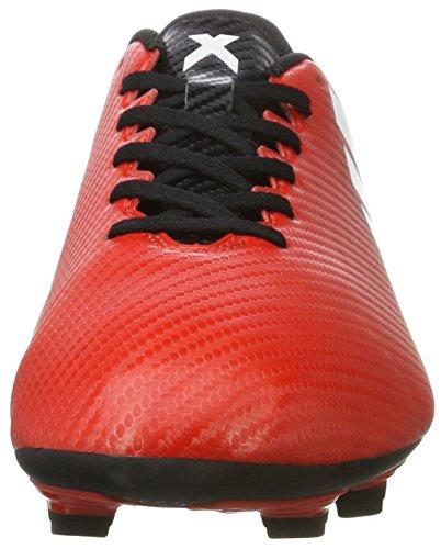 adidas Herren X 16.4 Fxg für Fußballtrainingsschuhe Rot (Rojo/ftwbla/negbas)
