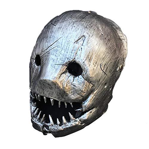 Butcher Mask Halloween Maske Ungiftig Spiel Prop Maske Butcher Kostüm Clip Elastic Durable Safe für erwachsene Männer (Elastic Mann Kostüm)