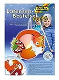 Folia Laternen-Bastelset (mit Laternenstab elektrisch, Fuchs)