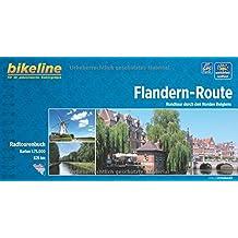Flandern - Route: Rundtour durch den Norden Belgiens. Radtourenbuch und Karte 1 : 75 000, 800 km, wetterfest/reißfest, GPS-Tracks Download