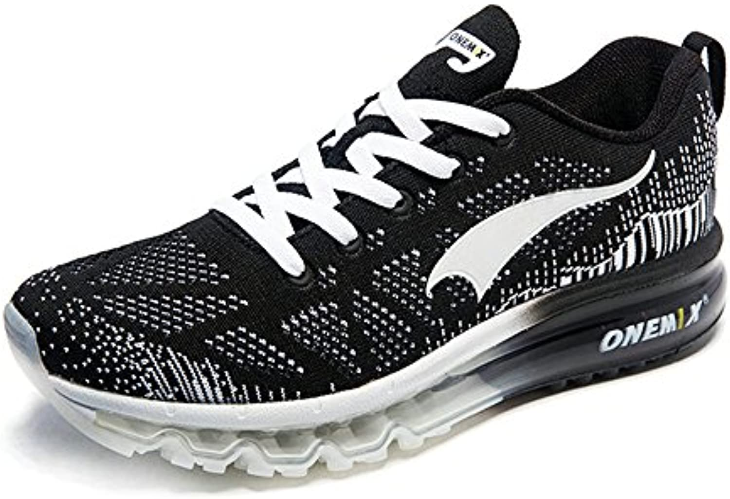 Onemix Hombre Mujer Air Deportes Zapatillas de Running Music Rhythm 1st Generation Respirable Atlético Unisex...