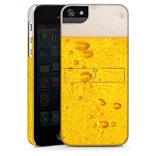 Apple iPhone 5c Silikon Hülle Case Schutzhülle Bier Design Oktoberfest Premium Case StandUp