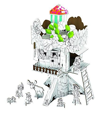 CALAFANT - Baumhaus von Pipa Lupina zum Basteln