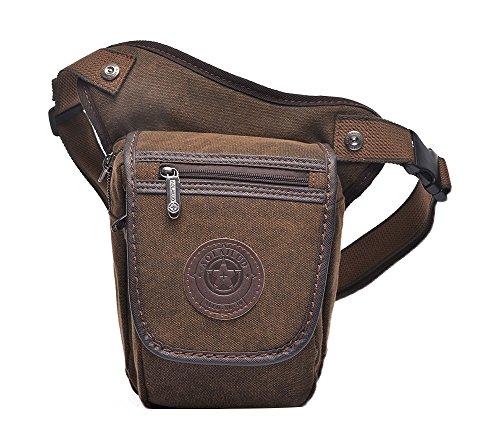 Genda 2Archer Tela Tattico Leg Bag Viaggio sacchetto della borsa escursionismo escursioni in bicicletta Hip