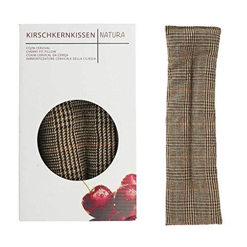 Umoi Öko, cuscino con noccioli di ciliegia extra lungo, con 350grammi di noccioli, per relax e benessere. Da riscaldare in forno o in microonde. 350grammi di noccioli di ciliegia, dimensioni: 42cm x 12cm