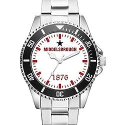 KIESENBERG® Watch - MIDDELSBROUGH 1876 - 6019